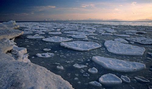 Hav og is