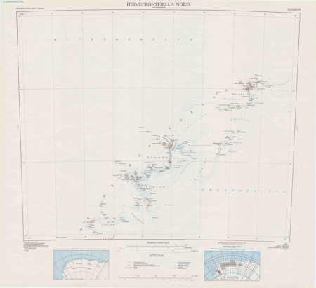 Heimefrontfjella North (DML 250) – D8