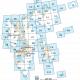 kart over svalbard delt inn i 62 kartblad