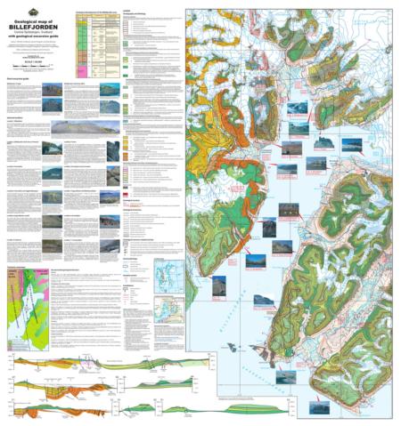 kart over billefjorden