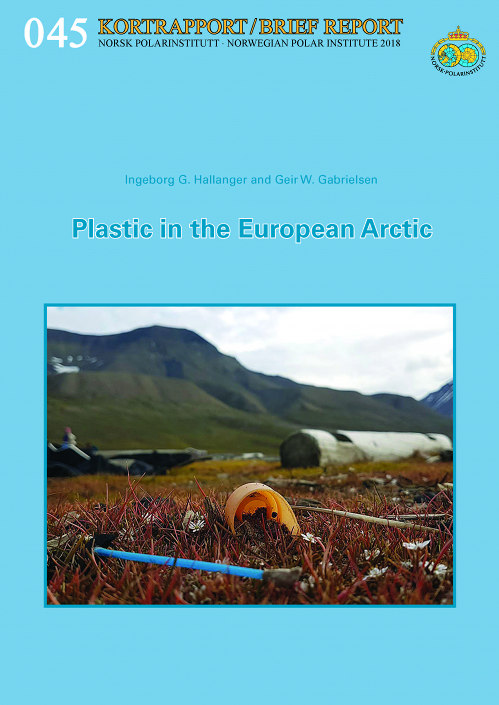 Natur med plastsøppel