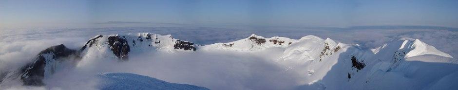 snedekt fjellkjede