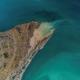 flyfoto av Land og hav