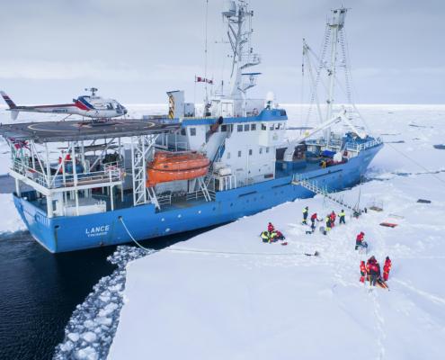 Forsker på isen