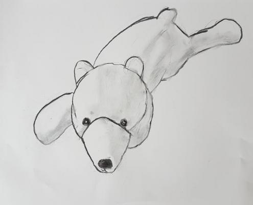 isbjørntegning
