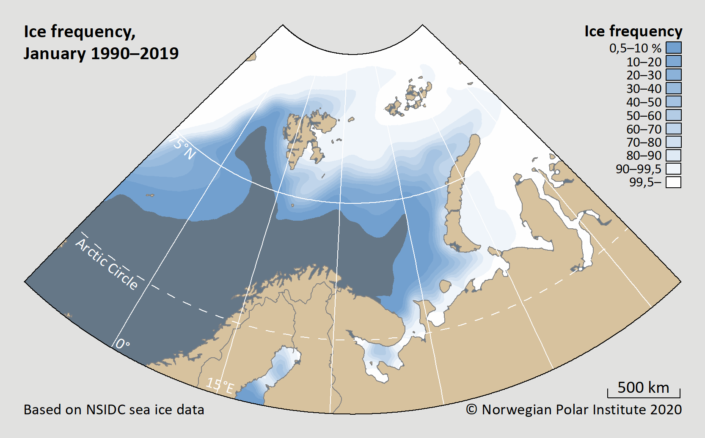 ice frequency january