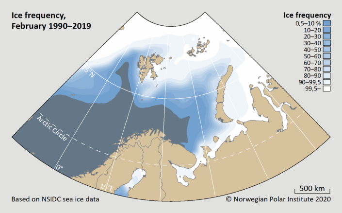 ice frequency february