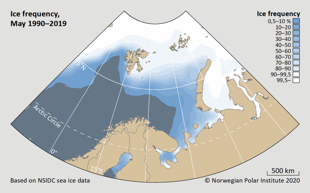 ice frequency may