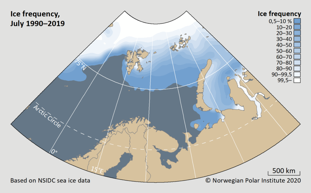 ice frequency july