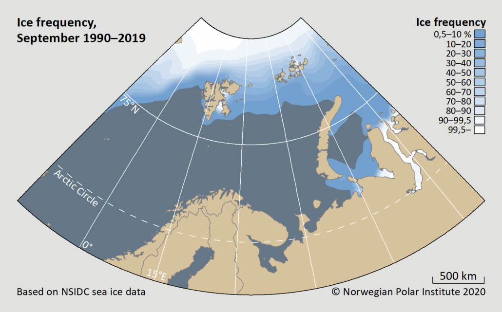 ice frequency september