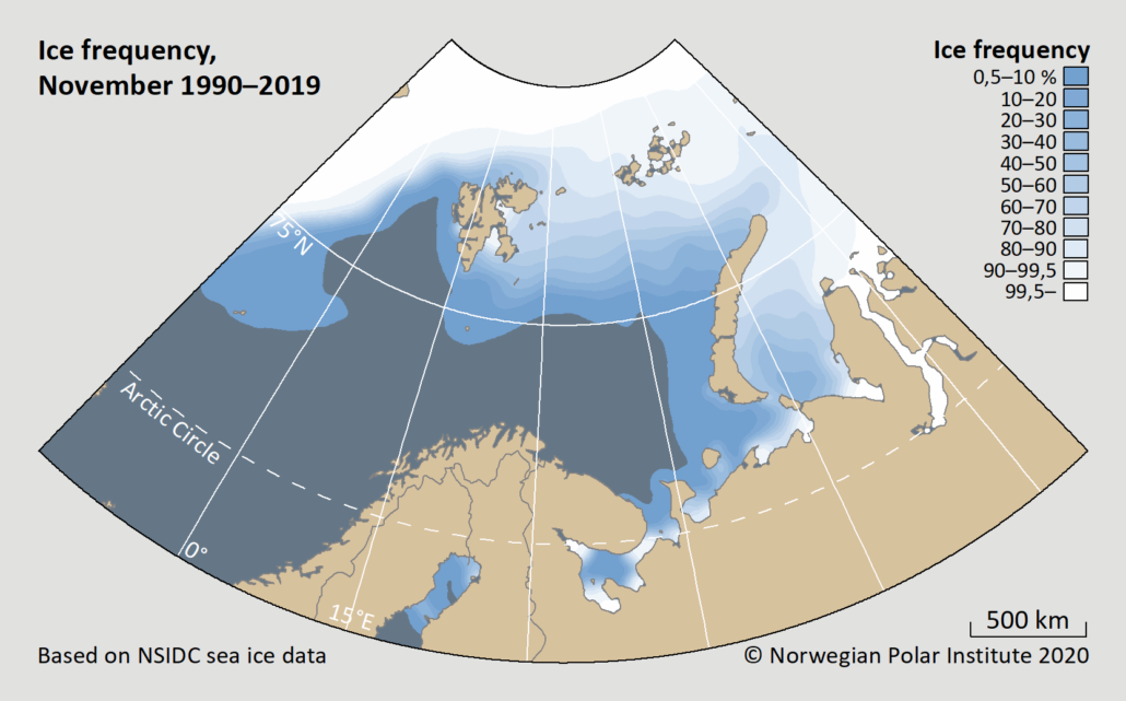 ice frequency november